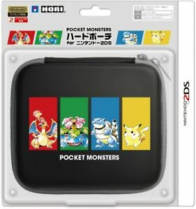 Hard Pouch HORI Nintendo 2DS Pokemon Pocket Monsters from JAPAN