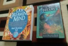 2 Book Lot: In Your Dreams by Gayle Delaney, Our Dreaming Mind by Robert L. Van