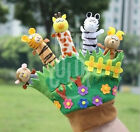 Animal Story Telling Finger Puppet Hand Glove Baby Toy Toddler Zoo Play Gift