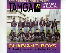 CD GHABIANG BOYS	tamga 92	VG+ (A3258)