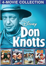 Don Knotts 4-Movie Collection (DVD) • NEW • Tim Conway, Apple Dumpling Gang, Gus