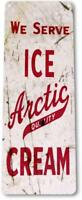 Artic Ice Cream Parlor Shop Bar Retro Ice Cream Decor Sign