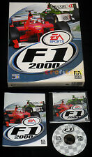F1 2000  Pc Versione Ufficiale Italiana Formula 1 Big Box ••••• COMPLETO