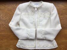 Vintage Terry Paris Prototype! Boucle Jacket Sz 6 and St. John Black Pants Sz 2