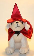 Dan Dee Retriever puppy dog Halloween red witch hat cape 7""