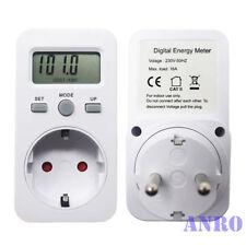 Energiekosten-Messgerät bis 3680W, 16A Strommesser Energiemessgerät Stromzähler
