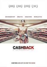 CASHBACK Movie POSTER 11x17 UK Sean Biggerstaff Emilia Fox Shaun Evans