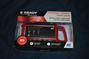 Midland ER210 E+ Ready Emergency Compact Crank Radio USB Charge NOAA Weather NEW