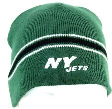 121b2206a4a New York Jets Beanie Stocking Cap Hat Green
