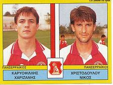 N°455 PLAYERS PANSERRAIKOS FC GREECE PANINI GREEK LEAGUE FOOT 95 STICKER 1995