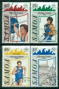 SAMOA 811-14 SG882-85 Used 1992 Summer Olympic Games Barcelona set of 4 Cat$8