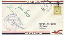 US Cover - National Air Races, Cleveland Airport 1932 - Signed by Roscoe Turner*
