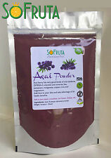 ACAI berry powder Wild Harvested 16oz (453g) Superfruit Omega3 SoFruta