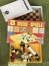 8 Reise-Spiele magnetisch, von Selecta, Vintage, wie neu