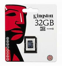 Genuine Kingston 32GB Memory card for Mobile Phone Camera Tablet 32 Gig Micro SD