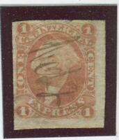 U.S. Stamps Scott #R1a Imperf,Used,FIne+  (X721N)