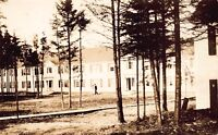 Real Photo Postcard Kittery Apartment Courtyard in Quoddy, Maine~117898