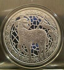 1 oz .999 silver Lamb of God John 1:29 Jesus Christ, christening,  baptism gift