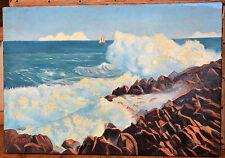 Tableau ancien Huile sur toile André RUFFIN (1898-1981) signée A RUFFIN