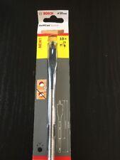Bosch Flat Drill Bit Fast Drilling Spade Speed Wood 10mm 2608595402