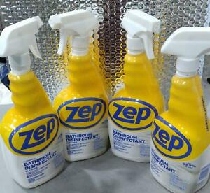 Zep Commercial All Purpose Bathroom Disinfectant 32oz ~ Lot of 4