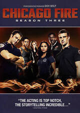 Chicago Fire: Season Three (DVD, 2015, 6-Disc Set) NEW