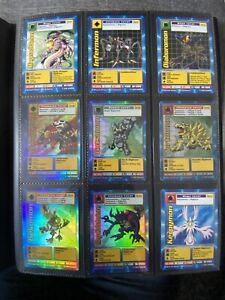 1999 Digimon Cards Collection