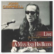 JOHN CAMPBELL  Live - A Man And His Blues  2CD MINI LP NEW