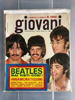 GIOVANI # 30 vintage 1967 Italian Magazine BEATLES on ps Bobby Solo R. Pavone