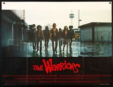 """THE WARRIORS 1979 Best Style! UK Quad 30""""X40"""" poster Walter Hill Film/ArtGallery"""