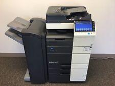 Konica Minolta Bizhub C454e Color Copier Printer Scanner Network LOW 126k total