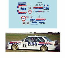 Décalcomanie pour miniature 1/43 BMW M3 - 24 heures de SPA 1989 #19 - D. THEY...