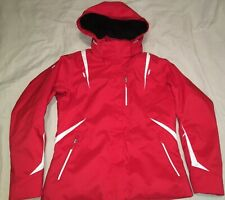 Descente Red Ski Snowboard Winter Jacket Coat Womens Size 14 - Removable Hood