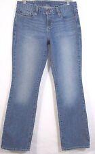Eddie Bauer Jeans Size 6 R Classic Boot Cut Stretch Denim Inseam 31