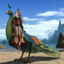 FF14 Mount: Kingly Peacock (Account-wide), FF14 Items Redeem Code