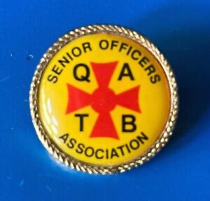 QATB Queensland Ambulance Transport Brigade Senior Officers Association Badge