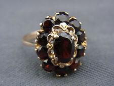 schöner alter Granat-Ring Gold 333/-