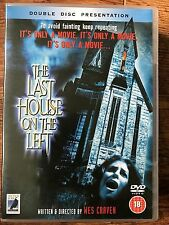 LAST HOUSE ON THE LEFT ~ 1972 Wes Craven Horror | Anchor Bay UK DVD 2-Disc