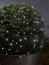 50 White LED String Light Outdoor Fairy Lights Garden Lighting 5.2m Indoor