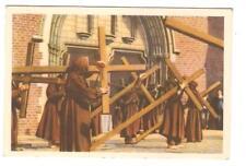 Chromo Côte d'or Folklore belge  FURNES Procession des Pénitents
