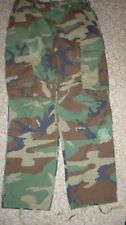 Vintage GI  BDU Trousers / Pants, Woodland Camo, VGC, Small - Short $24.95