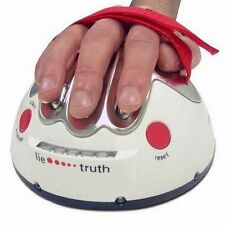US Hot Polygraph Shocking Liar Micro Electric Shock Lie Detector Truth Game Toy