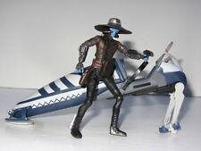 STAR WARS  Toy Figure Set  CAD BANE with SEPARATIST SPEEDER