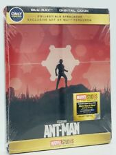 Ant-Man (Blu-ray+Digital Code, 2018; Only @ Best Buy Collectible SteelBook) NEW