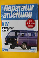 Reparaturanleitung  VW Bus T3 Benziner 1.6 + 2.0 CT CU CV Handbuch Wartung