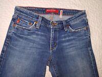 Big Star Jeans Womens Denim Pants Boot cut size 27R Waist 27
