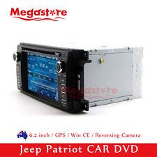 "6.2"" Car DVD GPS Navigation Head Unit Stereo Radio For Jeep Patriot 2009-2016"