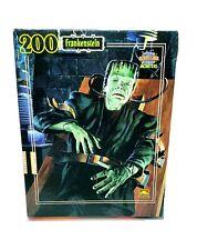 Vintage 1990 Frankenstein 200 Piece Puzzle Universal Studios By Golden Sealed