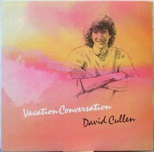 DAVID CULLEN Vacation Conversation LP Classical Guitar incl Electric &Synth Gtr.