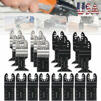 20PCS Dewalt Multi Tool Oscillating Saw Blades For Fein Multimaster Makita Bosch